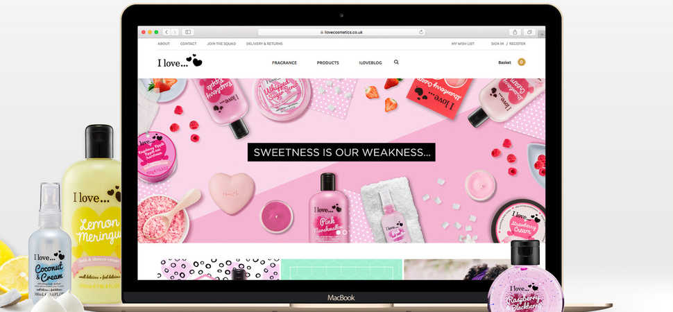 Motionlab Develop Engaging Digital Store For Emerging Cosmetics' Brand