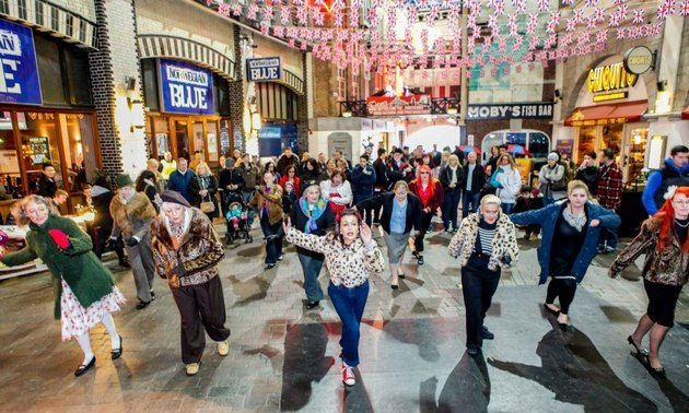 The Printworks steps back in time for Vintage Swing Festival 2014