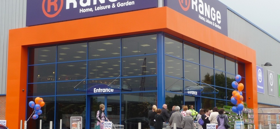 Retailer The Range makes sizeable donation to children's charity