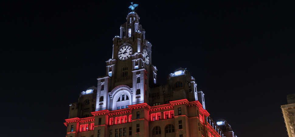 The Royal Liver Building launches new Christmas Show light display