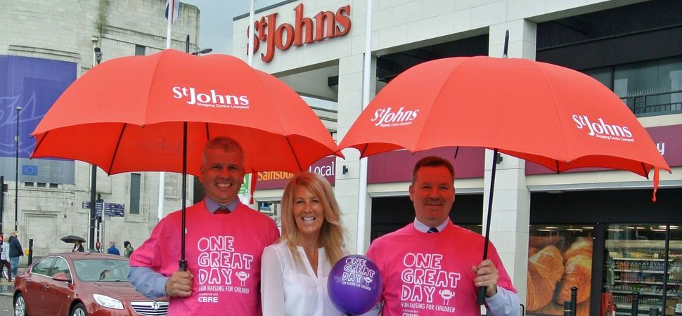 St Johns Shopping Centre Raises More Than £3000 For Children's Charities