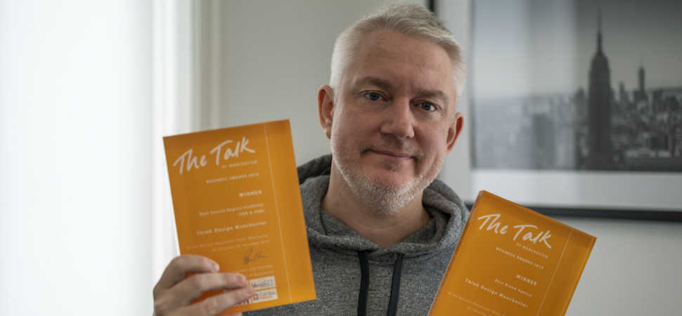 Leading Bury Creative Agency Wins the Double at The Talk of Manchester Awards