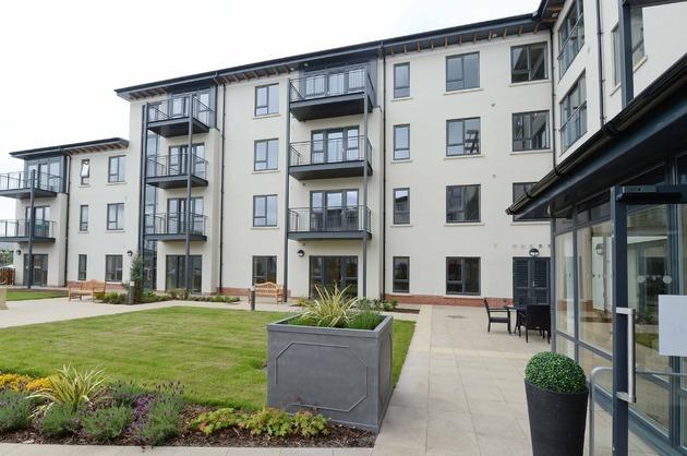 Helsby retirement living scheme complete