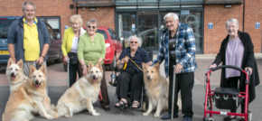 Puppy love in Redcars extra care facility