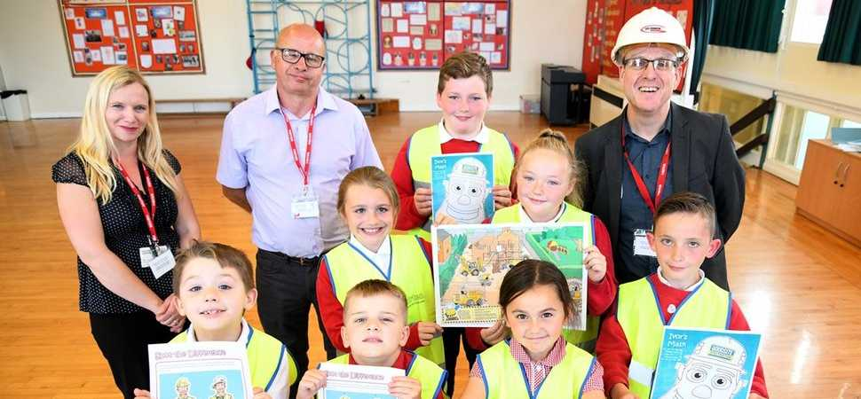 Site safety lessons for Middlesbrough schoolchildren