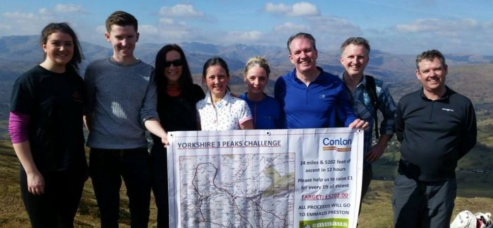 Preston Firm To Go Above and Beyond For Charity