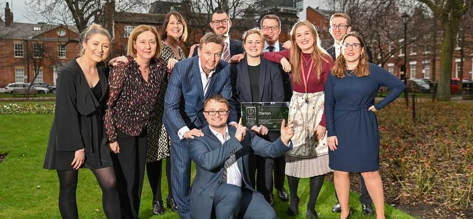 Clarion achieves three star accreditation in national 'Best Companies to Work For' scheme