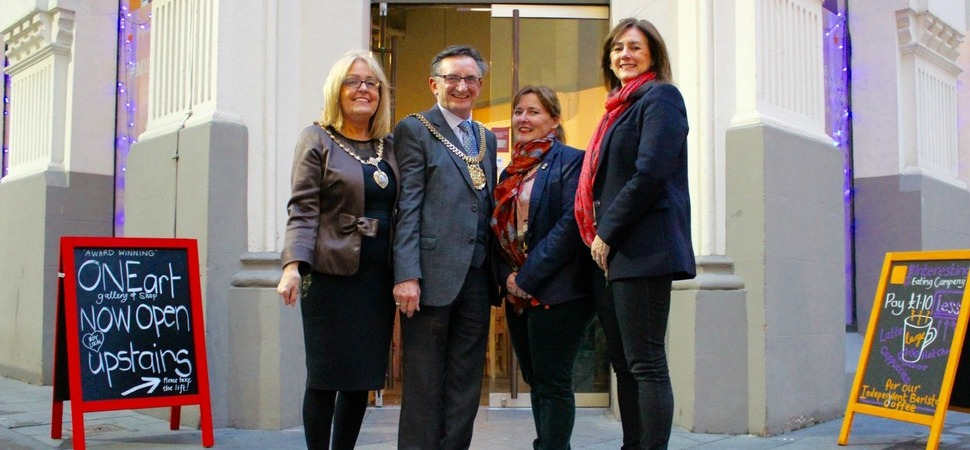 The Interesting Eating Company meet Lord Mayor ahead of Small Business Saturday