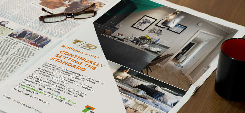 Fluid Ideas creates rebrand for Tingdene Homes in milestone year