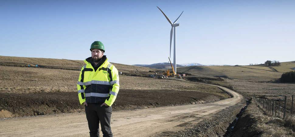 Key milestone achieved at Tullymurdoch wind farm