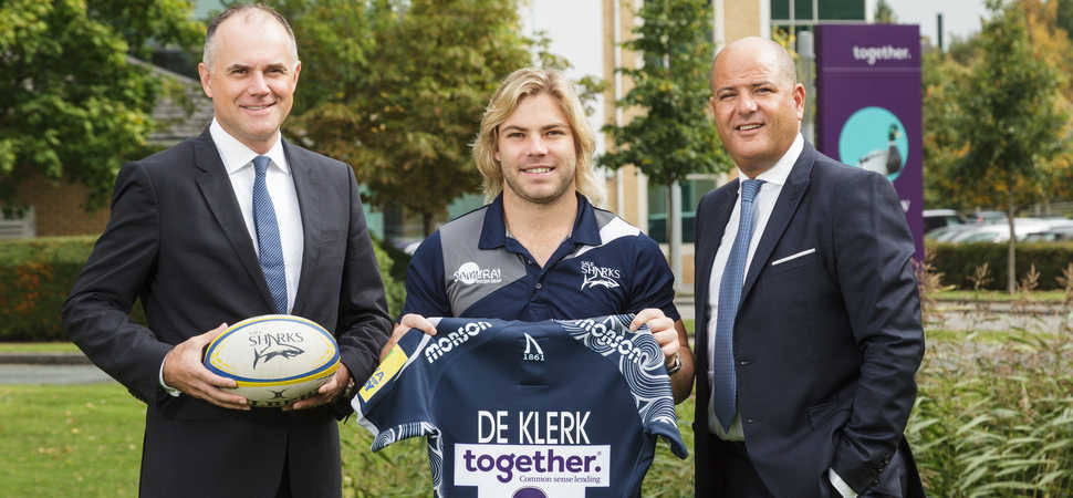 Together teams up with world class rugby ace, Faf de Klerk