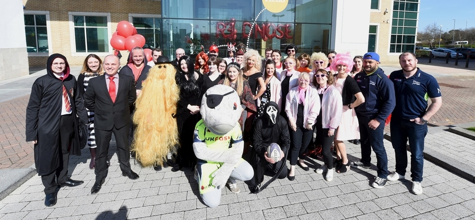 Together and Sale Sharks tackle Red Nose Day 2017