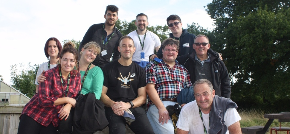 Together team lends a helping hand at Seashell Trust