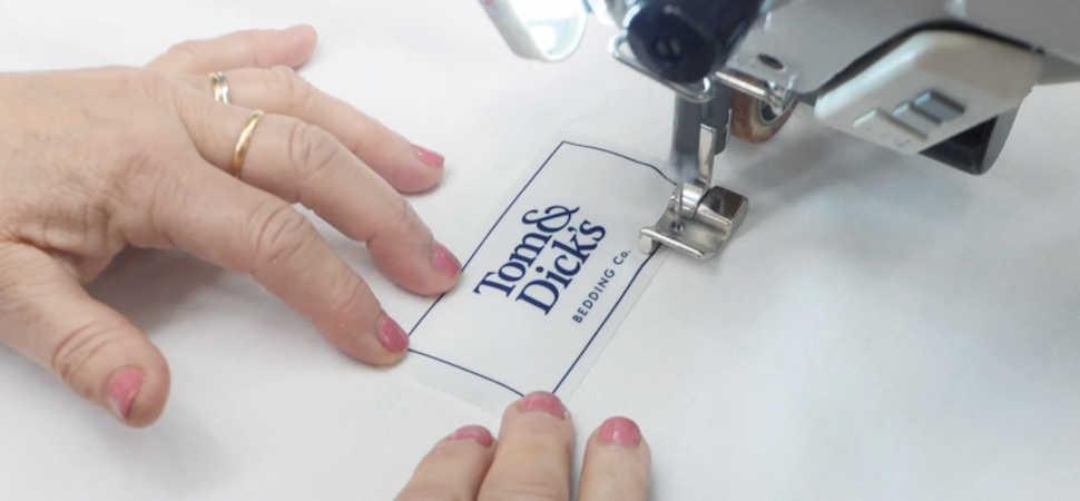 Truth Creative summon spirit of Cottonopolis for premium bedding brand Tom & Dicks