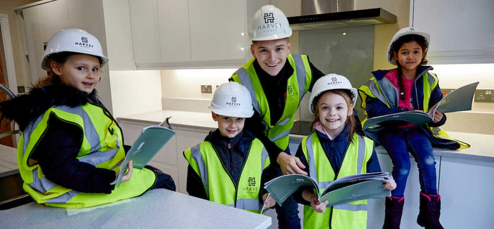 Students predict future of housebuilding with Harvey Homes
