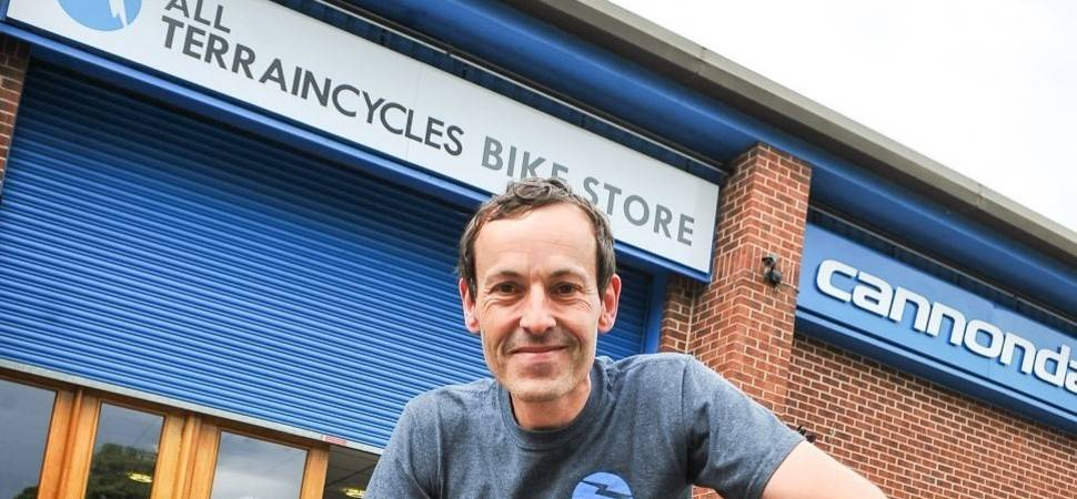 Yorkshire cycle retailer supports virtual peleton for hospice