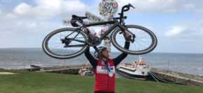 Scanlans partner cycles from Land's End to John O'Groats for charity