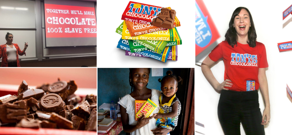 Interview with Nicola Matthews UK Marketing Manager of Tony's Chocolonely
