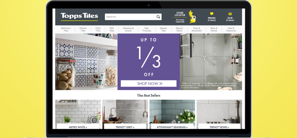 Topps Tiles Appoints Manchester Digital Agency For Optimum Online Experience