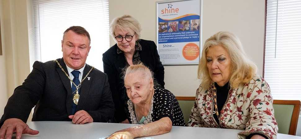 Hica's new 'magic table' helps residents living with dementia