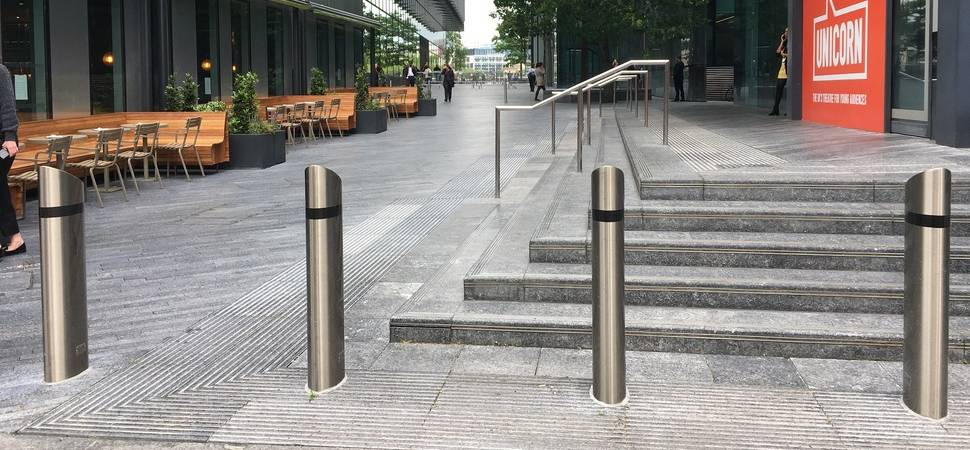 Prestigious installation in London for anti-terrorist bollard manufacturer