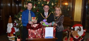 Lord Mayor of Liverpool helps Nugent Care provide festive cheer
