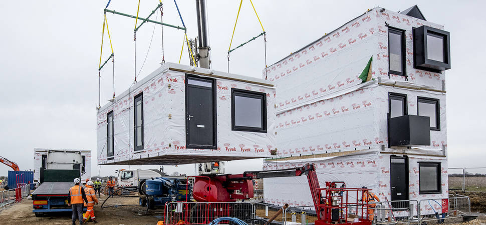 First new Modular Homes 'delivered' to region's New Town