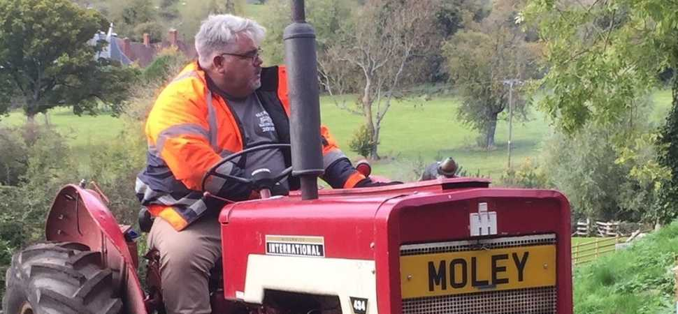 Moleys tractor run returns to raise funds for Birmingham day centre