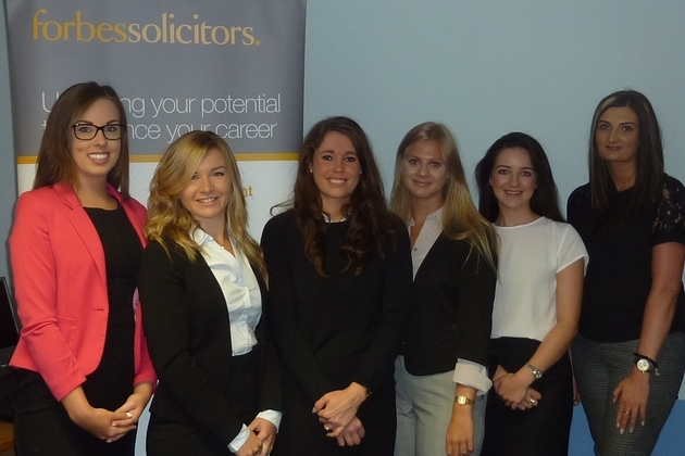 Trainee Solicitors Join Triple Award Winning Scheme