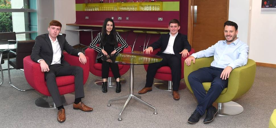 Midlands contractor signs up trio of young professionals