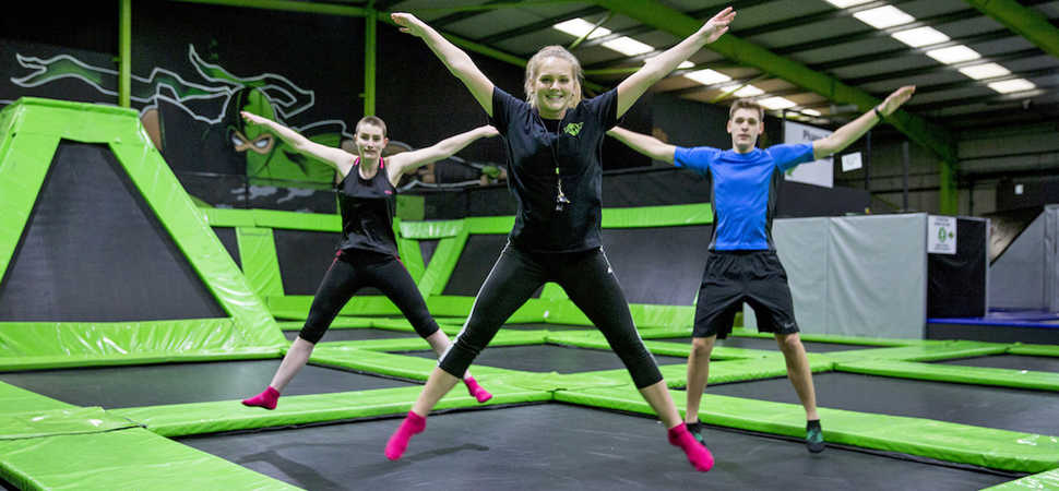 London's largest trampoline park brings new fitness craze to capital