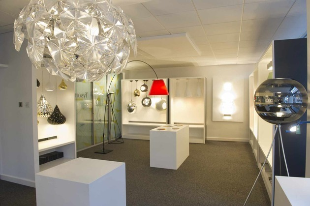 Tyson Lighting opens city centre showroom and receives Osbourne approval