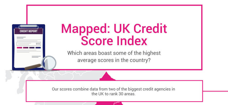 Revealed The UK's Best Credit Score Hotspots