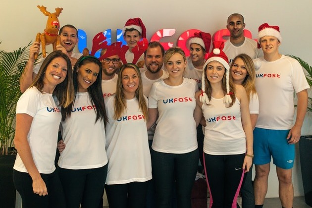 Festive fun as the UKFast Santa Run returns