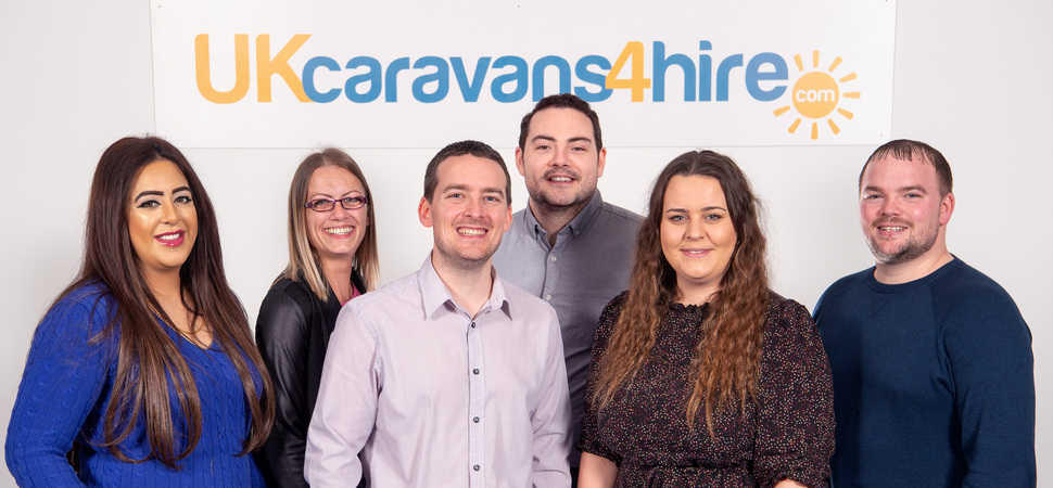 UKCaravans4Hire increases turnover by 40% with launch of new booking platform