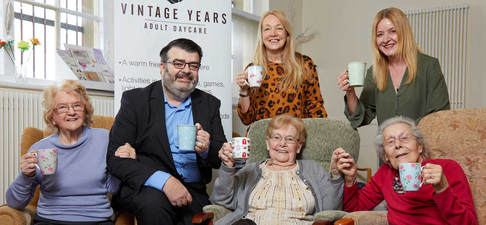 Adult day-care centre opens in Rotherham town centre following funding from UKSE