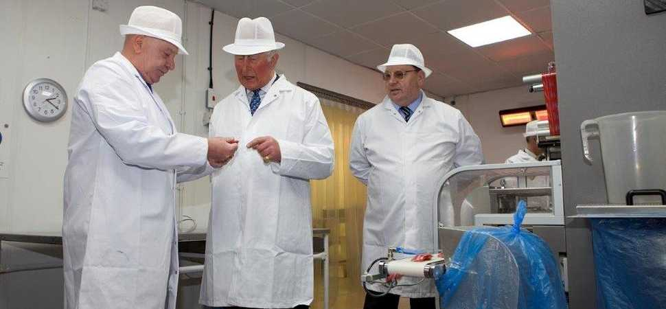 Prince Charles Visits Uncle Joe's Mint Balls To Mark Centenary