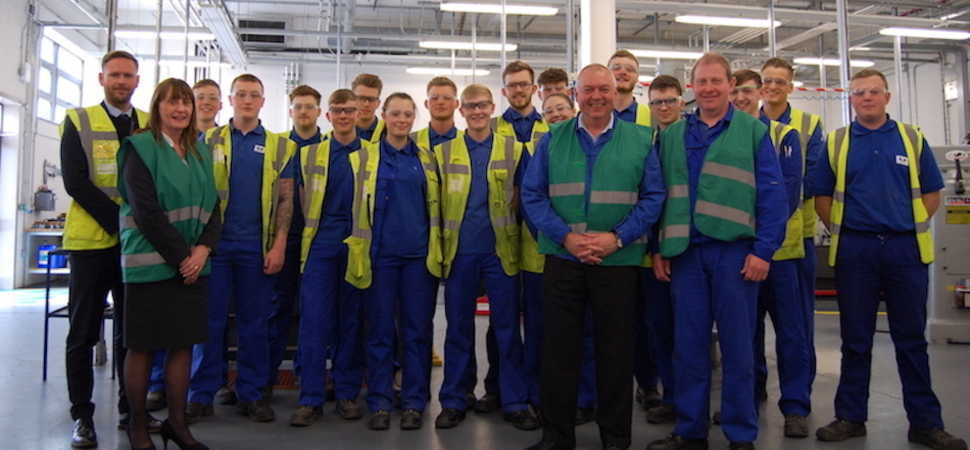 Unipres increases its apprenticeship intake with Hartlepool College of FE