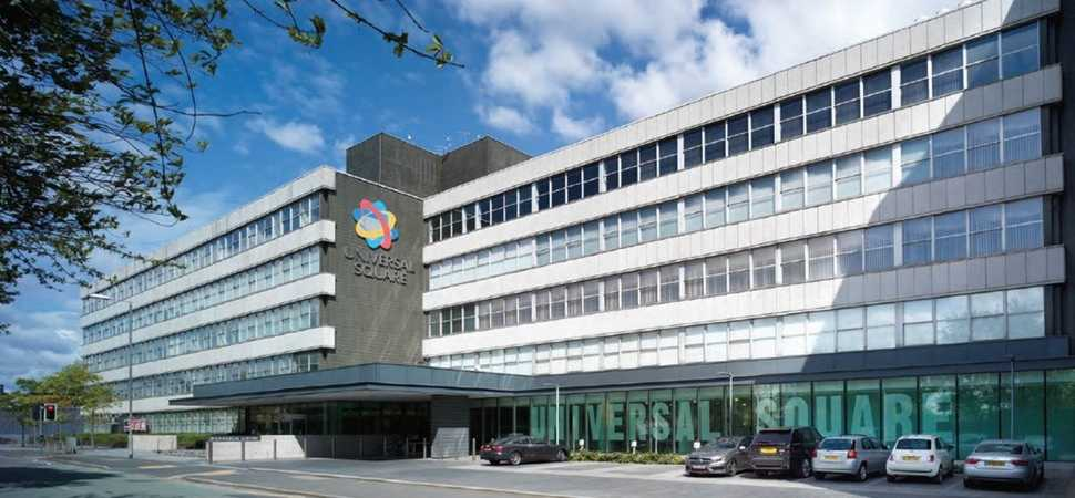 Manchester's Universal Square Business Centre now 65% let