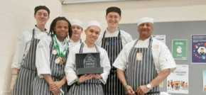 The City of Liverpool College chefs a cut above the rest at prestigious national competition