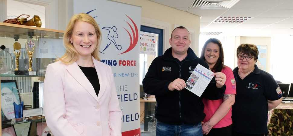 Darlington law firm helps veterans charity establish vital hub