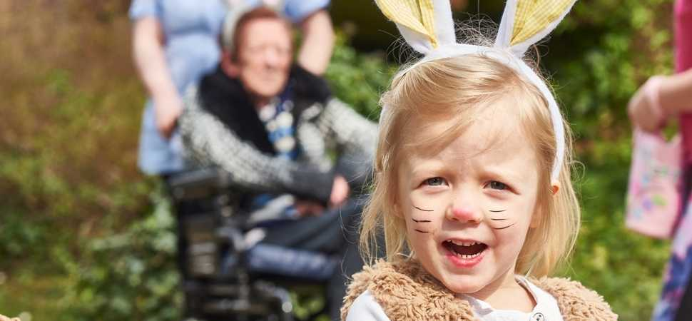 Easter Fun Day at Norwich Care Home Spans the Generations