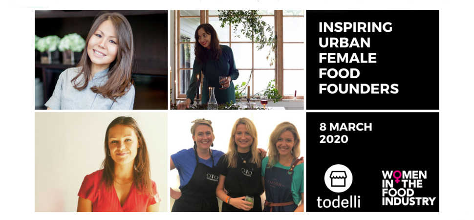 Urban Female Food Founders Panel on International Women's Day