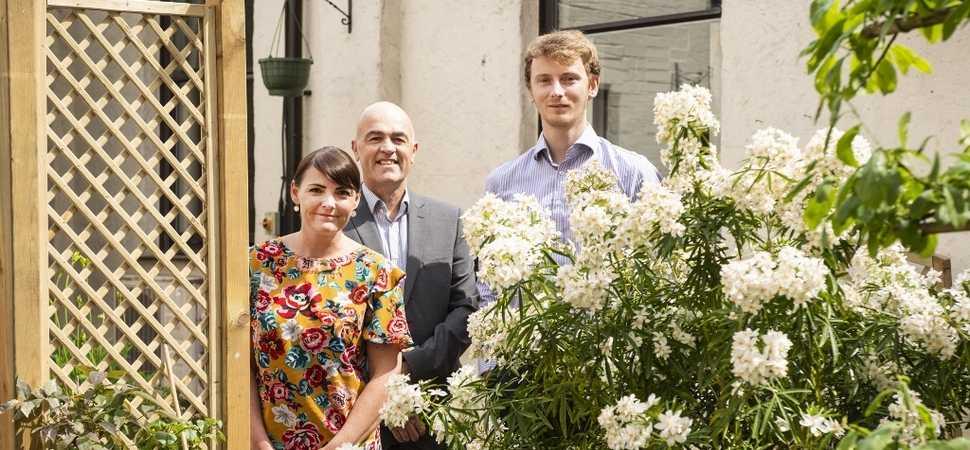 Urban Vision volunteers transform courtyard garden at Broughton House