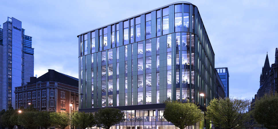 Manchesters most sustainable building reaches practical completion