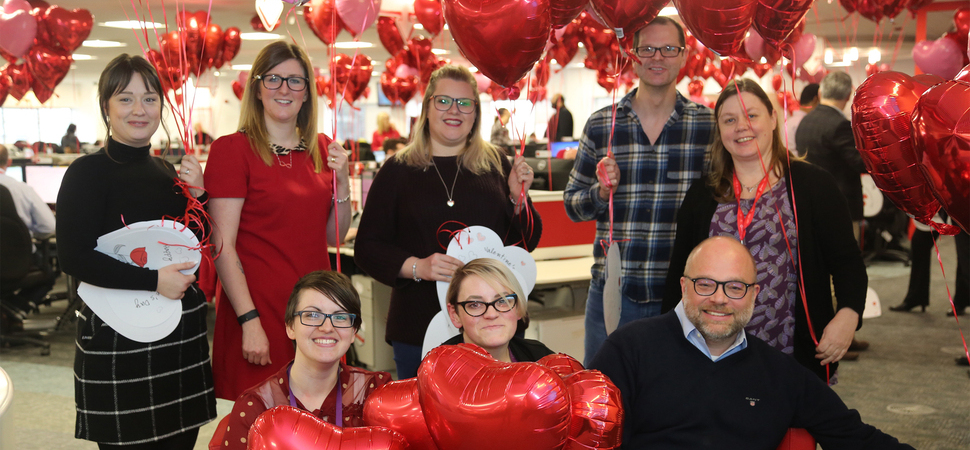 Love is in the air at HomeServe!