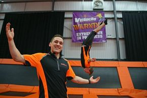 Velocity encourages North West to try new trampoline fitness trend