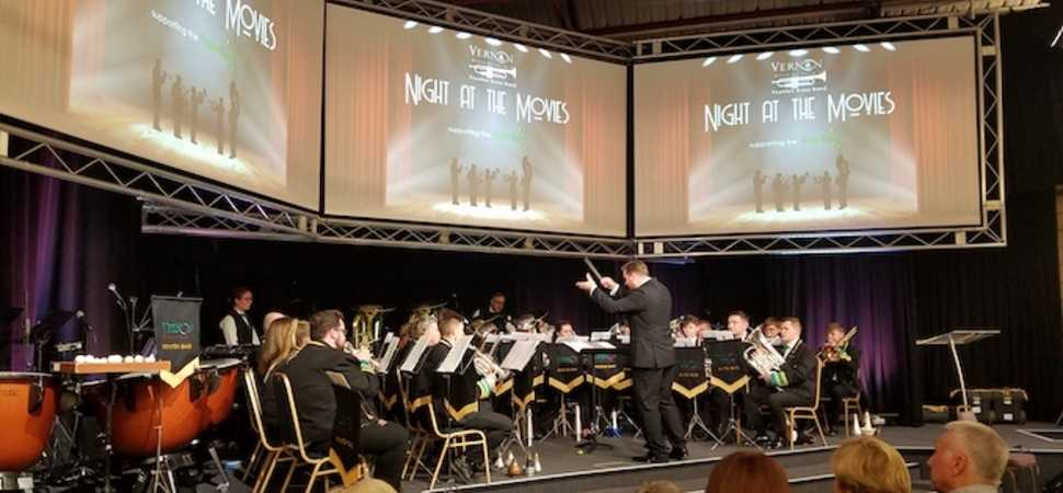 Vernon Brass Band raises £1,000 for Stockport Foodbank