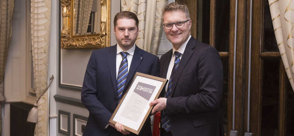 Macklin Motors Ford Dunfermline Sales Manager honoured for outstanding results