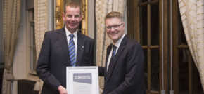 Top-performing Vertu Volkswagen Nottingham colleague rewarded at prestigious ann